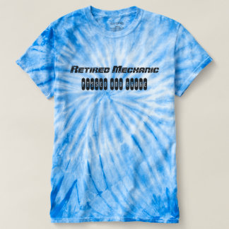 Retired Mechanic - T Shirt
