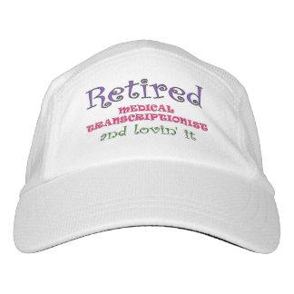 Retired Medical Transcriptionist Hat