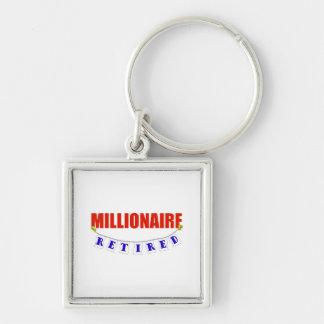 RETIRED MILLIONAIRE KEYCHAIN