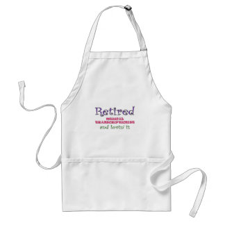 Retired MT Adult Apron