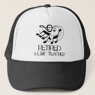 Retired Music Teacher Hats Caps Zazzle