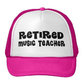 Retired Music Teacher Gift Trucker Hat