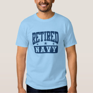 Retired Navy T Shirt