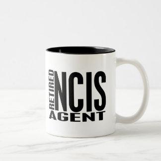 Retired NCIS Agent Two-Tone Coffee Mug