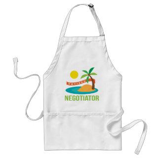 Retired Negotiator Beach Adult Apron