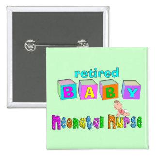 Retired Neonatal Nurse Gifts 2 Inch Square Button