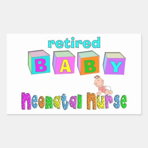Retired Neonatal Nurse Gifts Sticker