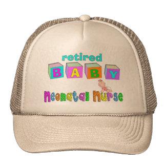 Retired Neonatal Nurse Gifts Trucker Hat