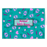Retired NICU Nurse Card