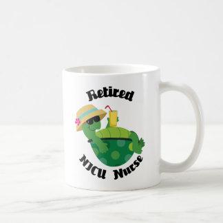 Retired Nicu Nurse (Turtle) Classic White Coffee Mug