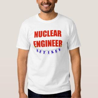 RETIRED NUCLEAR ENGINEER TEE SHIRT