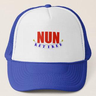 RETIRED NUN TRUCKER HAT