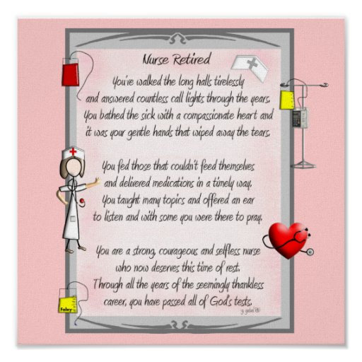 funny poems about nurses