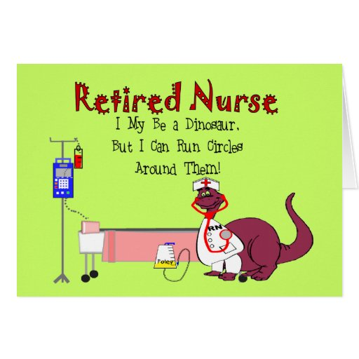 Retired Nurse Gifts Card