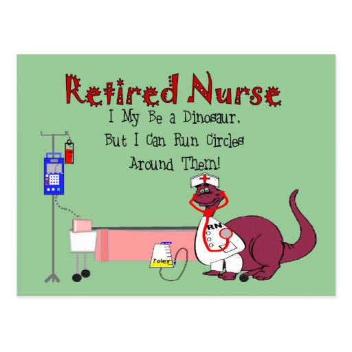 Retired Nurse Gifts Postcard