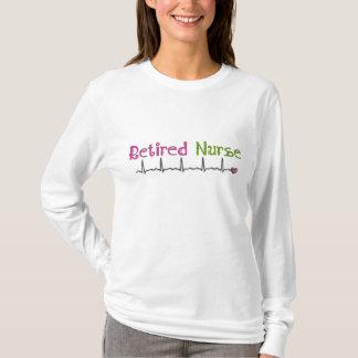 Retired Nurse Hoodie Cardiac Rhythm Design