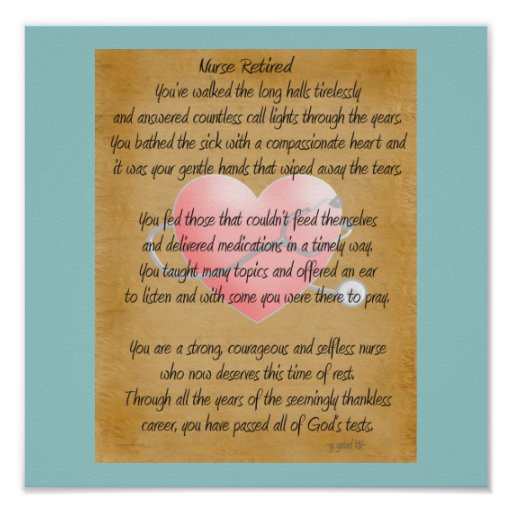 Quotes For A Friend Who Is Retiring : Nurse retirement poems and quotes quotesgram