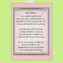 Retired Nurse Poem gifts by ~~Gail Gabel, RN Card