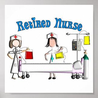 Retired Nurse Poster (Customizable)