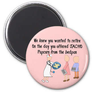 Retired Nurse Story Art Gifts Magnet