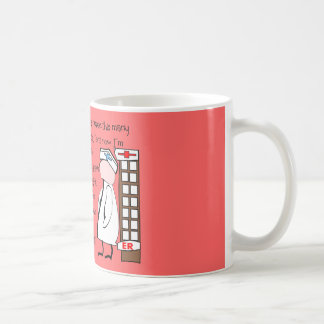 """Retired Nurse""  Story Art--Unique Gift Items Mug"