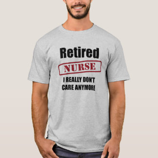 Retired Nurse (US spell) T-Shirt