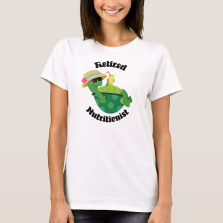 Retired Nutritionist (Turtle) T-Shirt