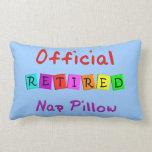 """Retired """"Official Nap Pillow"""" Throw Pillow"""