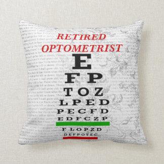 Retired Optometrist Pillow