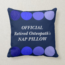 Retired Osteopath's Pillow