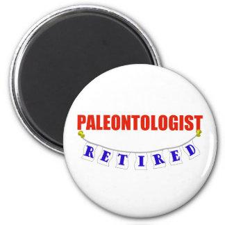 RETIRED PALEONTOLOGIST 2 INCH ROUND MAGNET