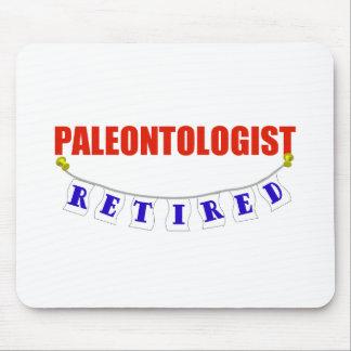 RETIRED PALEONTOLOGIST MOUSE PAD