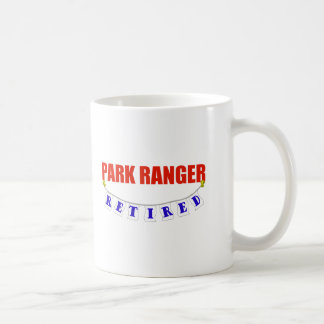RETIRED PARK RANGER COFFEE MUG