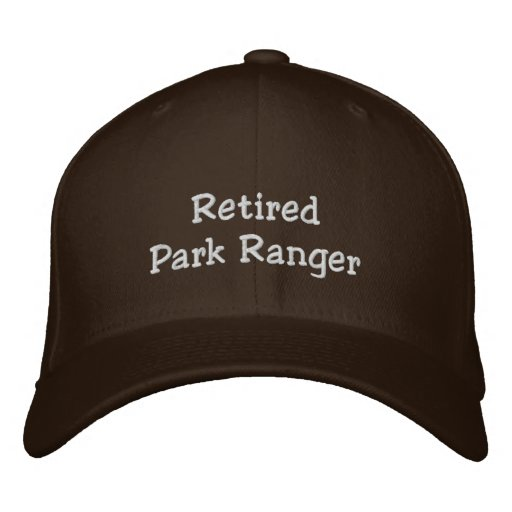 Retired Park Ranger Embroidered Baseball Cap  dc560e64d86