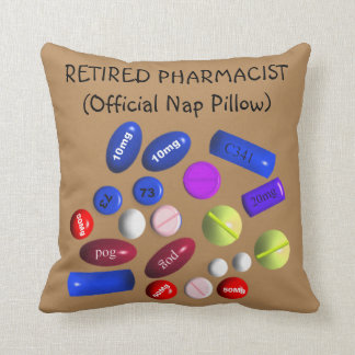 Retired Pharmacist Official Nap Pillow 5