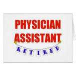 RETIRED PHYSICIAN ASSISTANT CARD