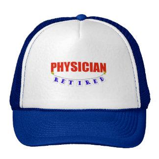 RETIRED PHYSICIAN TRUCKER HAT