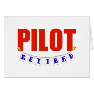 RETIRED PILOT CARD