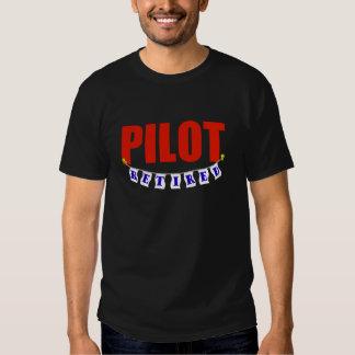 RETIRED PILOT SHIRT