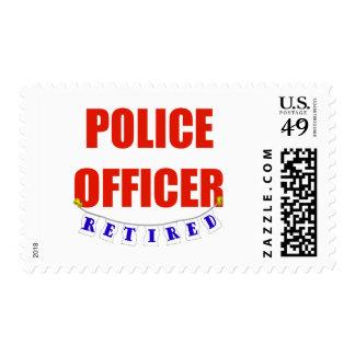 RETIRED POLICE OFFICER STAMP