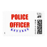 RETIRED POLICE OFFICER STAMPS