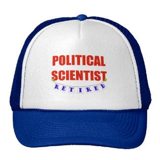 RETIRED POLITICAL SCIENTIST TRUCKER HAT