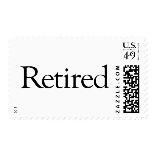 Retired Postage