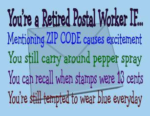 70e1fa13d Funny Postal Worker T-Shirts - T-Shirt Design & Printing | Zazzle