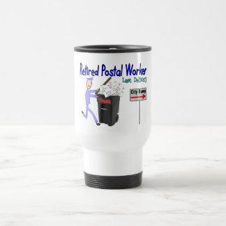 Retired Postal Worker Last Delivery Travel Mug