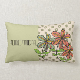 Retired Principal Nap Pillow