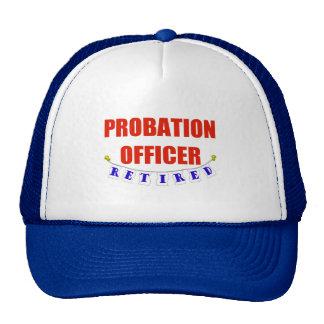RETIRED PROBATION OFFICER TRUCKER HAT