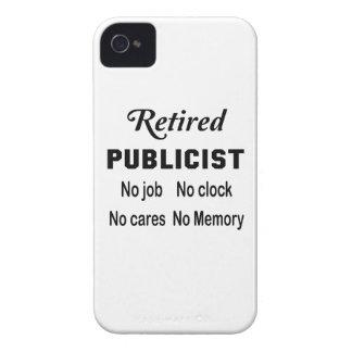 Retired Publicist No job No clock No cares iPhone 4 Covers