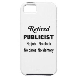 Retired Publicist No job No clock No cares iPhone SE/5/5s Case