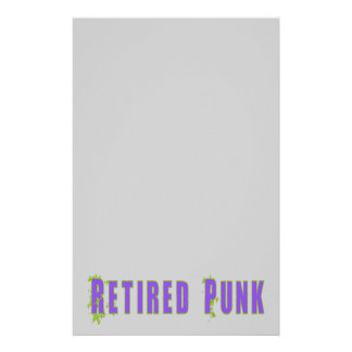 Retired Punk Stationery